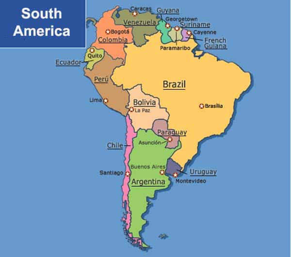 Facts About South America
